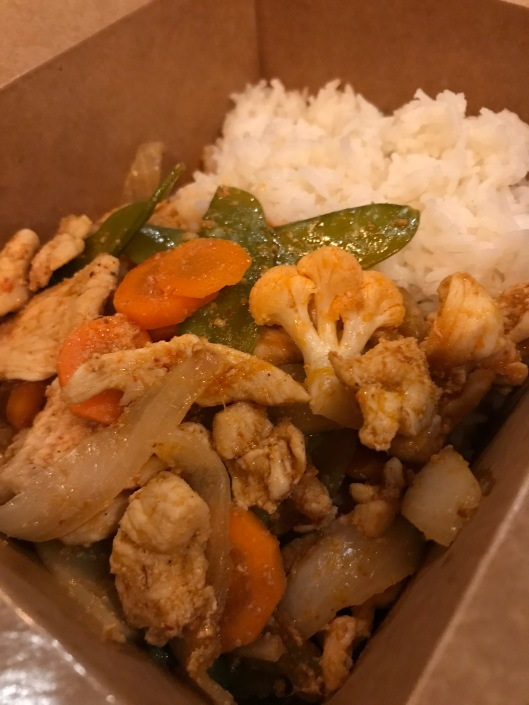 Spicy Red Curry Chicken